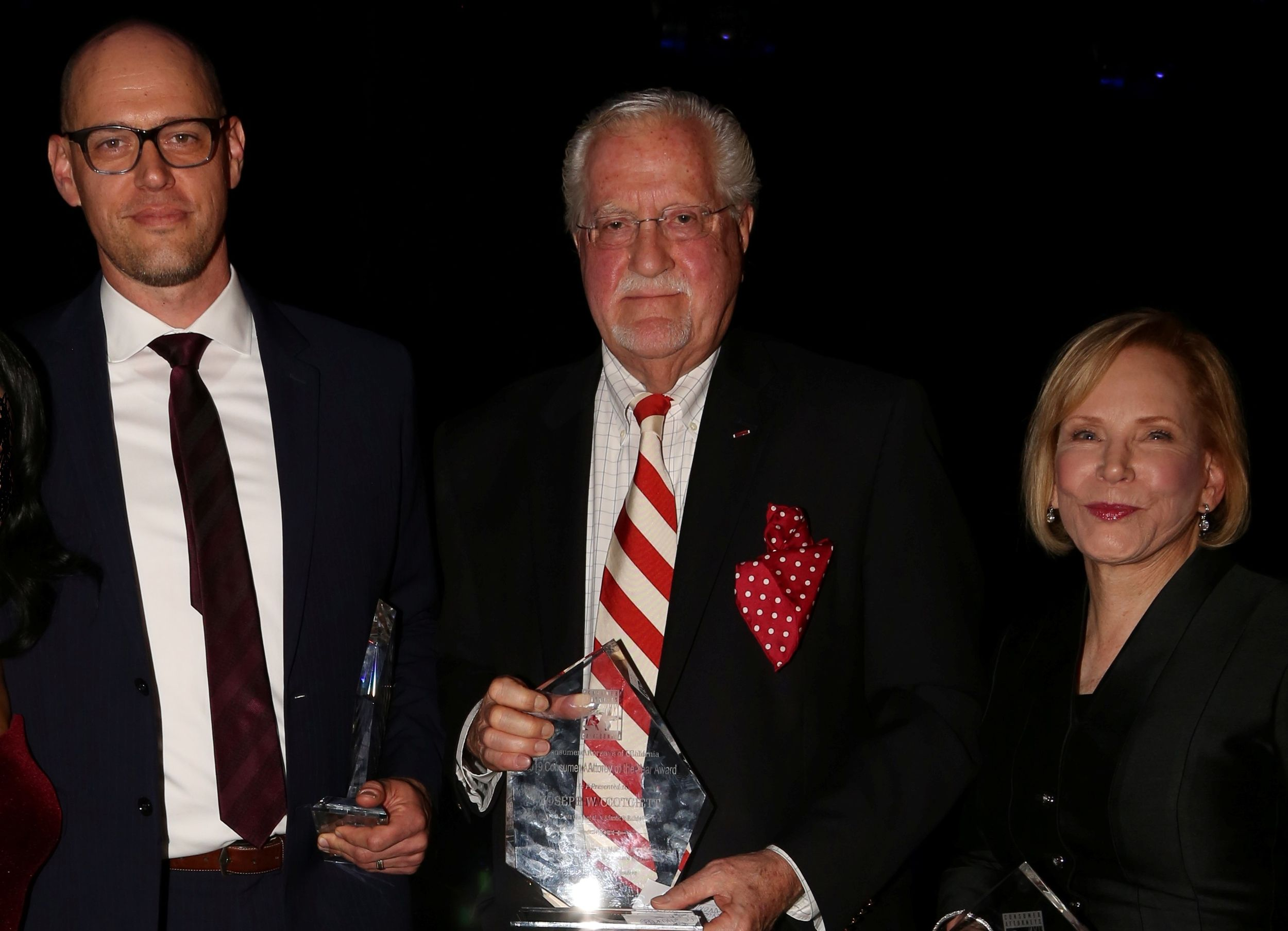 Photo of Consumer Attorney of the Year 2018 winners Craig Peters on the left and David Winnett on the right